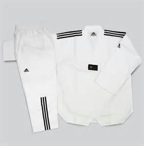China 110cm to 210cm Unisex WTF Taekwondo Uniform Martial Arts Clothes on sale