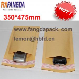 China 350'*475mm Customized kraft  paper air Bubble mailer padded envelope #K on sale