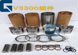 China Geniune KUBOTA Engine Parts V3300 V2607 Engine Cylinder Liner Kit For Excavator on sale