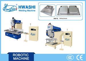 China Sink Edge Grinding / Polishing Sink Welding Machine 50mm Abrasive Belt Width on sale