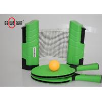 Interior On The Go Ping Pong Set , Desktop Table Tennis Game SetWith 1 Carry Bag