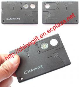 China 9-in-1 Multifunctional Portable Card Tools on sale