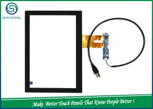China 10.1 Inches Glass To ITO Glass Large Capacitive Touch Screen For MID Smart Appliances on sale
