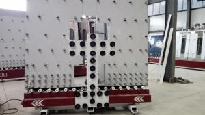 China 2650x2600x2900mm Glass Loading Machine Mitsubishi PLC Control 100L/Min Air Consumption on sale
