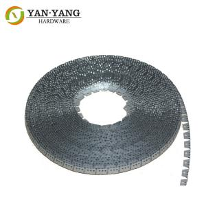 China Furniture hardware metal tack strip for sofa edge banding upholstery curve tack strip on sale