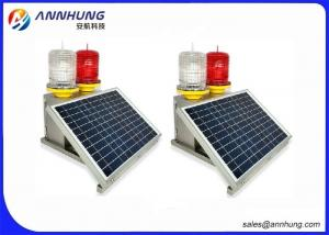 China PC Material Aviation LED Lights With 10 Years Service Life Solar Panel on sale