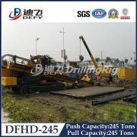 Horizontal Directional Drilling Rig DFHD-245 with 2480KN Pull Capacity