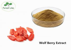 China Herbal P.E. Goji Berry Extract Male Enhancement Powder 50% Polysaccharides on sale