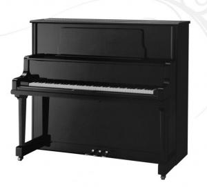 China 126cm Modern Acoustic Upright Piano Black Polished With Stool Inventory AG-126 on sale