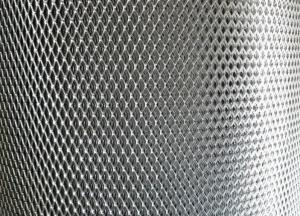 China 1mm Thick Expanded Metal Grating, 2.5mm - 50mm SWM Expanded Sheet Metal Mesh on sale