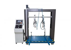 China Lab Furniture Testing Machine , Chair Arm And Leg Durability Tester on sale