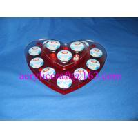 China Heart shape acrylic coffee capsule holder on sale