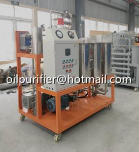 China Phasphate Ester Fire-resistant Fluids Oil Purifier, Hydraulic Oil Purification Unit on sale