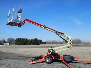 China 100 - 200kg Folding arm Electric Hydraulic Lifting Platform for articulated on sale