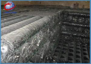 China Building Material Hexagonal Wire Netting , Pvc Coated Chicken Wire Fence For Garden on sale