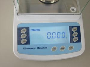 China High Precision Analytical Balance Scale For Laboratory Measurement , 0.1mg/0.0001g on sale