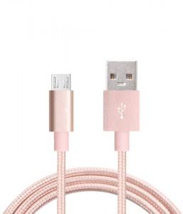 China Nylon Braided Micro USB To USB Cable Quick Charge High Speed Data Sync on sale