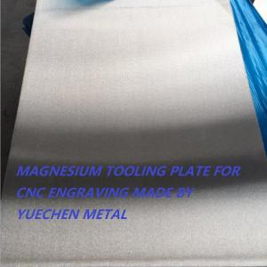 China AZ31B-O AZ31B-H24 magnesium alloy plate sheet magnesium engraving sheet for CNC, stamping, embossing, die sinking on sale