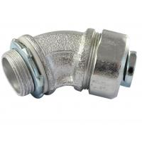 China Durable Malleable Iron Conduit Fittings , 45 Degree Conduit Fitting Firm Structure on sale