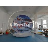 Outdoor Camping Clear Single Inflatable Bubble Room For Christmas Party