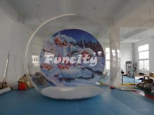 China Outdoor Camping Clear Single Inflatable Bubble Room For Christmas Party on sale