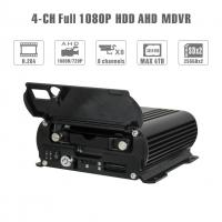 Realtime 4Ch Mobile DVR GPS Position 1080 AHD Hard Disk Dvr Recorder HD Cycle