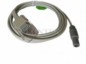 China Mindray TPU Spo2 Extension Cable 8 Foot 6P > DB9F Connector on sale