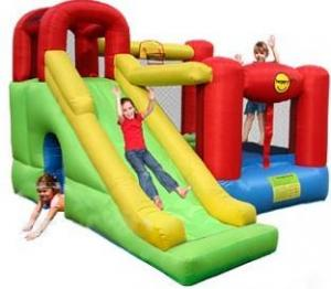 China Inflatable Castle Slide 6 in 1 Play Center (OL-28017) on sale