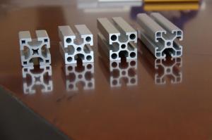 Quality Système en aluminium industriel argenté du profil 6061 pour des machines for sale