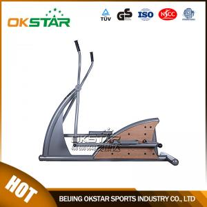 China wholesale outdoor fitness equipment park wood outdoor elliptical trainer on sale