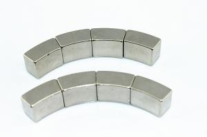 China High coercive force rare earth arc segment magnets , neodymium iron boron magnet on sale