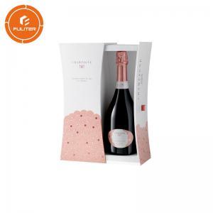 China Customized kraft paper luxury wine gift box, special customized wine box on sale