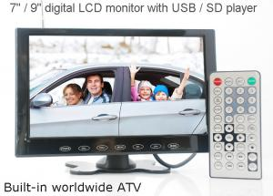 China VCAN0951 9 inch LCD monitor with USB SD mp5 player Bulitin Analog TV on sale