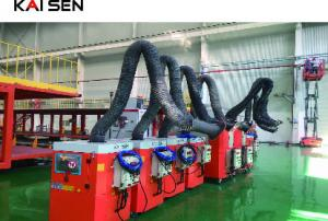 China Explosion Proof Type Mobile Welding Fume Extractor With 1500m³ / H Air Flow on sale