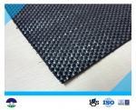 Enegreça o geotêxtil tecido para a tela 87KN/60KN 390G do reforço
