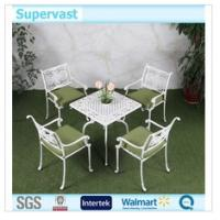 China Outdoor Cast Aluminum Garden Set / Cast Aluminum Chairs And Tables For Balcony on sale
