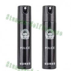 Quality 110ML Injector Tear gas black police pepper spray self defense for sale