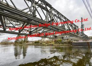 China Military dedicated Construction Pre-engineered Modular Steel Bailey Temporary Bridge Across River Project on sale