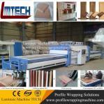 Flat pvc sheet door vacuum membrane press machine