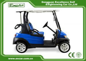 China Golf Course Battery Powered Golf Buggy 2 Seater With Trojan Battery on sale
