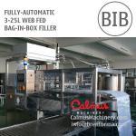 China Filling System Manufacturer 3-25 Litre WEB Fed Bag in Box Filler