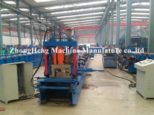 China High Precion Hot Rolled C Z Purlin Roll Forming Machine For Steel Workshop on sale