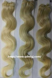 China Superior quality packaged virgin remy hair weaving,100g with favorable price on sale