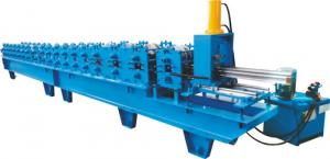 China Polyurethane Foam Filled Rolling Shutter Roll Forming Machine For Making Door & Window Slats on sale