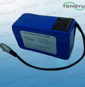 China Cobre la batería recargable durable 25.9V 10Ah del litio excesivamente para Powakaddy/Motocaddy on sale