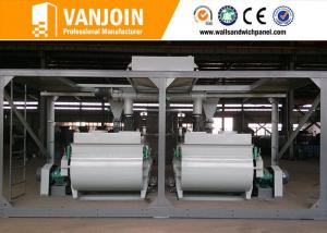 China Low Input High Output Automatic Construction Material Making Machinery For Wall Panels on sale