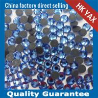 China Y0602 sapphire hotfix DMC rhinestones;hotfix DMC crystals;hotfix DMC beads on sale