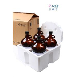 China 4L HPLC Acetic acid glacial High purity solvent on sale
