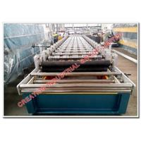 Corrugated Color Aluminum Step Tile Roofing Sheet Rolling Machine, Aluminium Steptiles Making Machine