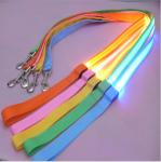 Promotion Retractable Led Pet Dog Harness dog Leash and Collar Set With Led Light